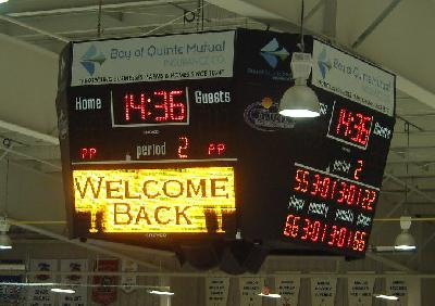 Hockey Scoreboard 4-Faces-4710-Hybride - Wellington, On